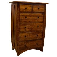 Amish Traditional Hillsdale 6-Drawer Chest