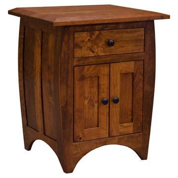 Amish Hillsdale Nightstand (1 drw/2doors)