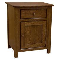 Amish Cornwall Drawer & Door Nightstand