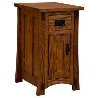 Amish Craftsman 1 Door/ Drawer Nightstand