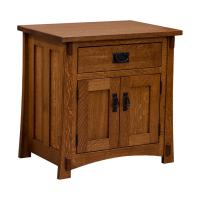Amish Craftsman Mission Nightstand