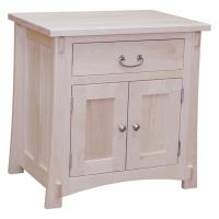 Amish Maple One Drawer / Two Drawer Night Stand