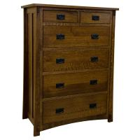 "40"" Amish Mission Dutch 6-Drawer Chest"