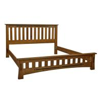 Amish Mission Low Foot board Bed