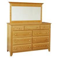 Shaker 9-Drawer Mule Dresser