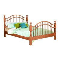 Country Double Bow Bed
