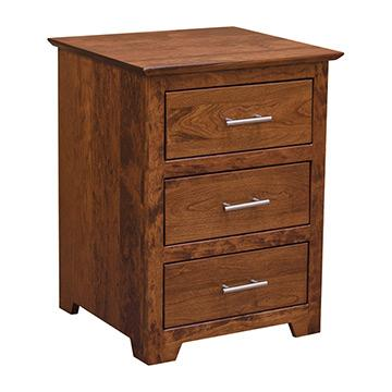 Yancy Cobler Night Stand - Rustic Cherry