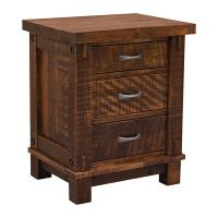Rustic Timber Night Stand