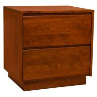 "24"" Amish Contemporary Canterbury Nightstand"