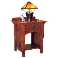 Arts & Crafts 1 Drawer Night Stand