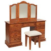 """56"""" Deluxe Clockbase Dressing Table"""