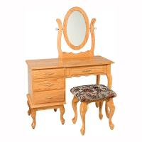 """42"""" Queen Anne Dressing Table"""