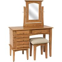 "42"" Shaker Jewelry Dressing Table"