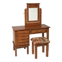 """42"""" Mission Jewelry Dressing Table"""