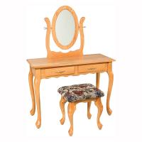 "42"" Queen Anne 2 Drawer Dressing Table"