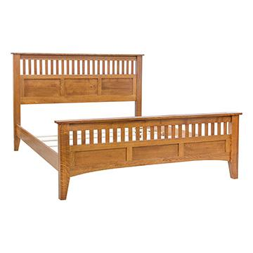 Mission Spindle - Panel Bed
