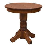"30"" Traditional Pedestal Table"