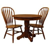 """36"""" 3-pc Traditional Round Table-Set 1"""