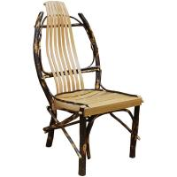 Natural Amish Hickory Side Chair
