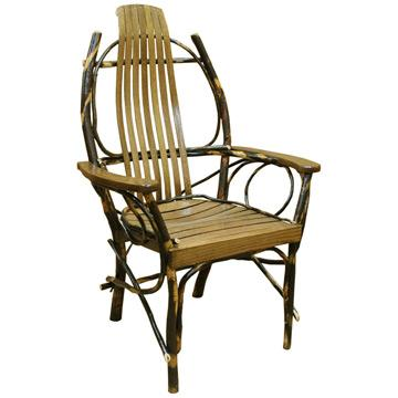 Amish Hickory Arm Chair