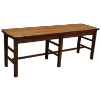 "48"" Quarter Sawn Amish Mission Bench"