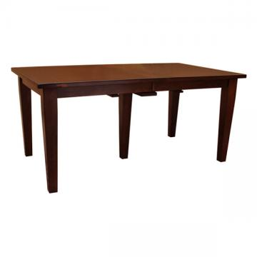 """38"""" x 66"""" Amish Frontier Dining Table w/ 4-Leaves"""