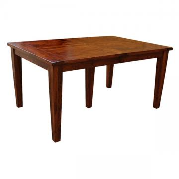 """42"""" x 60"""" Amish Frontier Dining Table w/ 5-Leaves"""