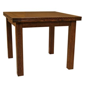 Flip Top Solid Wood Dining Table | Dining Tables | Barn Furniture    Craftsman Furniture Made In USA