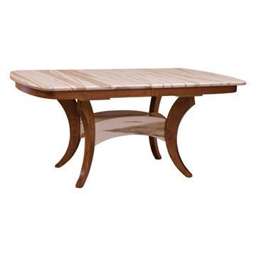 Galveston Dining Table - Wormy Maple / Cherry
