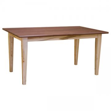 """36"""" x 60"""" Amish Harvest Shaker Dining Table"""