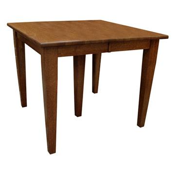 Amish Harvest Shaker Dining Table w/ Leaves