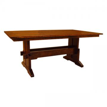 "42"" Frontier Mortis Rustic Table"