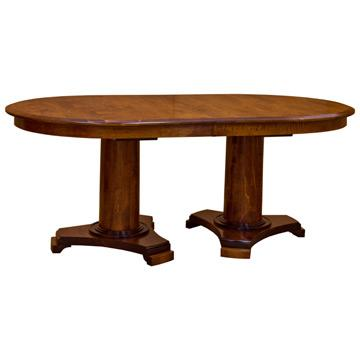 AmishSierra Base 72 Inch Oval Dining Table