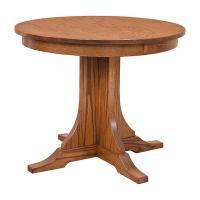 "Amish 36"" Round Kitchen Table"