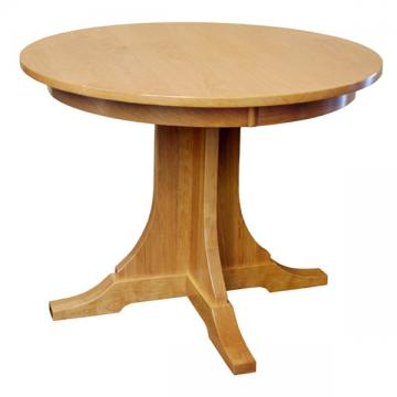 """38"""" Cherry Round Mission Table"""