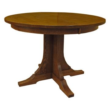 Amish Mission 42 Inch Round Dining Table