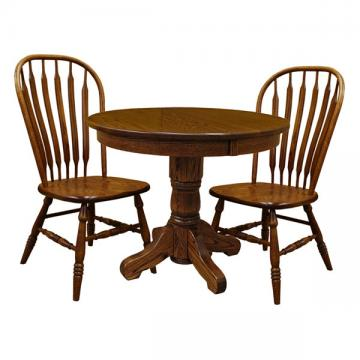 """42"""" 3-pc Traditional Round Table-Set 1"""