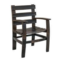 Whiskey Barrel Arm Chair