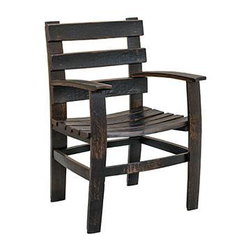 Whiskey Barrel Arm Chair Dining Chairs Barn Furniture