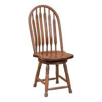 Dixi Bow Back Swivel Chair
