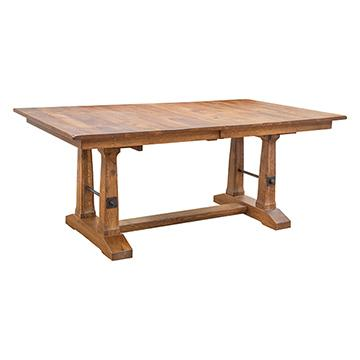 Rustic Carla Eliz Dining Table | Dining Tables | Barn Furniture   Craftsman  Furniture Made In USA