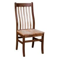 Rochester Side Chair- Walnut/Wormy Maple