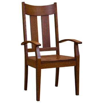 Amish Lilac Arm Chair