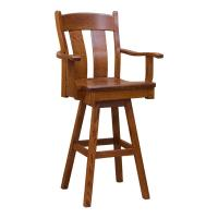 Austin Arm Swivel Bar Stool
