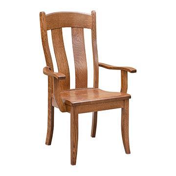 Amish Austin Mission Arm Chair
