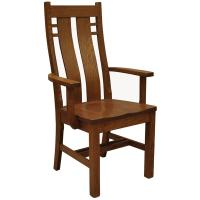 Amish Bungalow Arm Chair