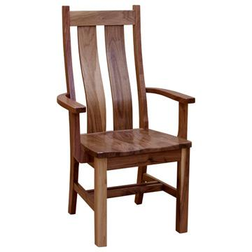 Bungalow Arm Chair- Character Walnut
