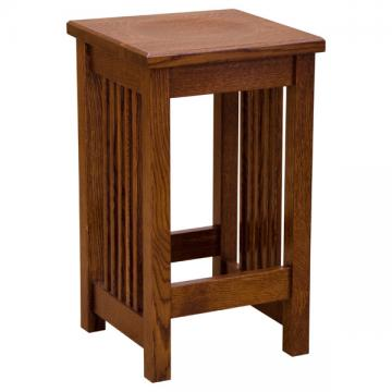 """Amish Mission Barstool 24"""" Wood Seat"""
