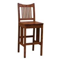 "30"" Amish Mission Classic Royal Barstool"