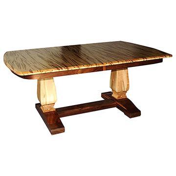 Bassett Double Pedestal Table
